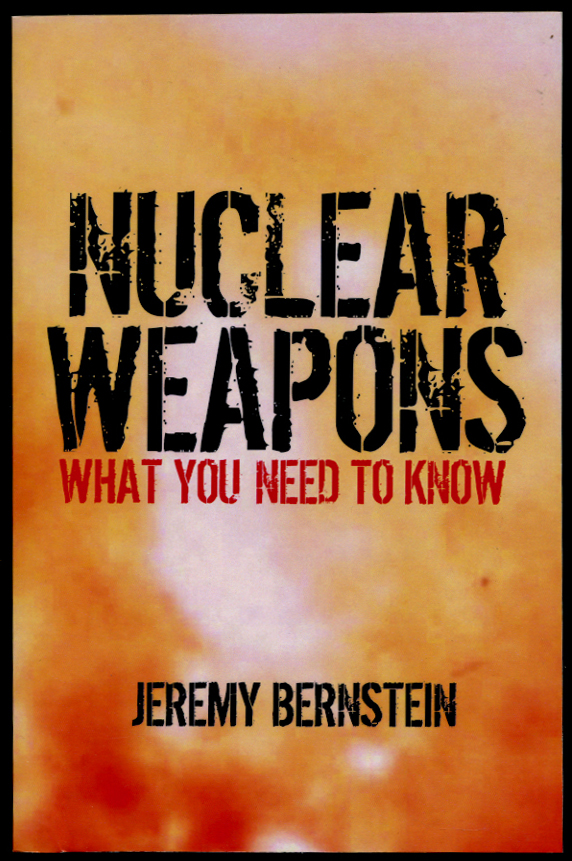 an argument in favor of nuclear weapons as an absolute necessity of a country